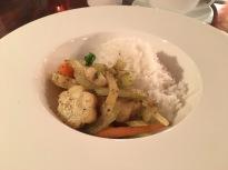 Gedämpftes Gemüse mit Reis